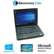 """Dell Latitude E6410 14""""Laptop/Notebook 2.53GHz Core i5 4GB DDR3 160GB Windows 10"""