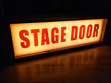Stage Door Light Box - Theatre Lightbox- Illuminated  Sign
