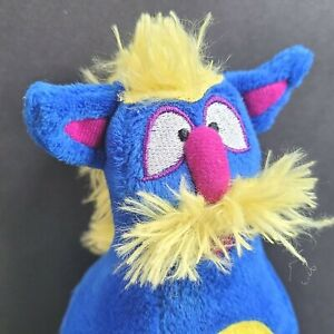 "Melissa & Doug Toddler Plush Mohawk Monster Bowling Pin 7"" Blue Replacement Pin"
