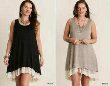 Plus Size Dresses for Women with Embroidered Shift Dresses