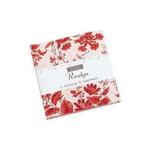 Moda Roselyn Charm Pack Fabric By Minick & Simpson Quilting Sewing