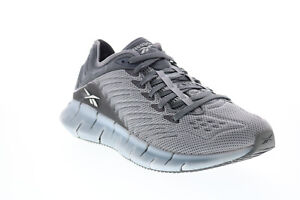 Reebok Zig Kinetica EH1721 Mens Gray Mesh Lifestyle Sneakers Shoes 11