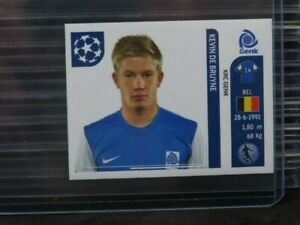 2011-12 Panini UEFA Champions League Kevin De Bruyne RC Sticker #338 (b) Z28
