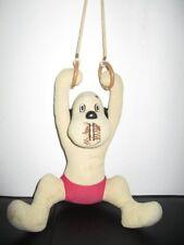 Stofftier Puppe WUM als Turner Loriot 70er 80er Jahre 30 cm