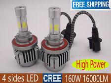 H4 H13 9004 9007 160W 16000LM CREE LED Conversion White 6000K Hi/Low Beam Bulb