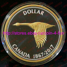 2017 Canada 150 Big Coin Alex Colville Designs Goose $1 5 OZ Pure Silver Dollar