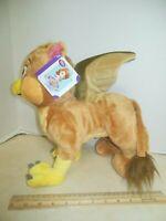"Disney Store SOFIA Griffin 12"" Tall Plush mythical Animal Doll Toy Sophia NEW"