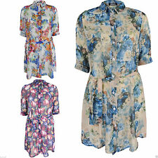 Unbranded Polyester Mini Floral Dresses for Women