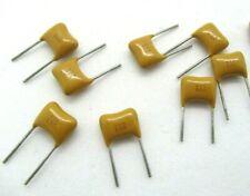 5/10/20pcs AVX Mono Ceramic Capacitor 50V 1uF 20% E5M Radial Monolithic USA