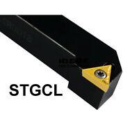 STGCL 2020K16 20×125mm Index External Lathe Turning Holder For TCMT1102 inserts