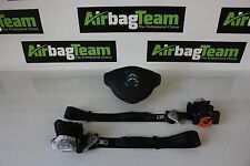 Citroen Berlingo 2008 - Onwards Driver Airbag Kit Seat Belts Air Bag ECU