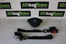 CITROEN Berlingo 2008-en Adelante Controlador Airbags Kit cinturones ECU bolsa de aire