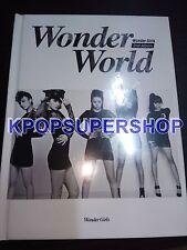 Wonder Girls Vol. 2 - Wonder World CD NEW Sealed K-POP KPOP Nobody 2nd Album