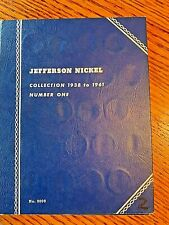 Rare Vintage Jefferson Nickel Collection 1938-1961 Book No. One - 57 total