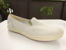TIMBERLAND A1IEM Mayport Canvas Slip Stone Schuhe Mokassin Textil Gr.39(6) Neuw