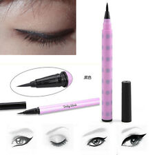 Makeup Eyeliner Pencil Dolly Wink Liquid Fashion Deep Black Color Pro Tool