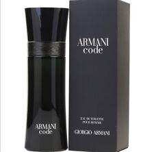Armani Code for Men by Giorgio Armani Eau De Toilette 2.5 OZ
