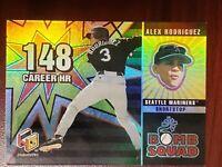 2000 Upper Deck Hologrfx Bomb Squad Alex Rodriguez Seattle Mariners #BS4