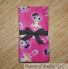 BonEful FABRIC Fleece Blanket Quilt Large Throw 50X60 Lala Loopsy Doll Pink Girl