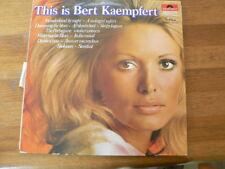 LP RECORD VINYL PIN-UP GIRL THIS IS BERT KAEMPFERT GOLDEN CROWN SERIES POLYDOR S