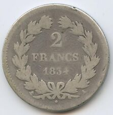 Louis-Philippe (1830-1848) 2 Francs 1834 A Paris