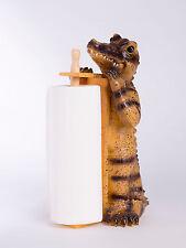 Krokodil Alligator Küchenrollenhalter Küchendeko Küchenutensilien Geschenk Deko