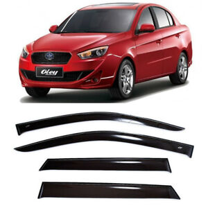 For Faw Oley Sd 2012- Side Window Visors Sun Rain Guard Vent Deflectors