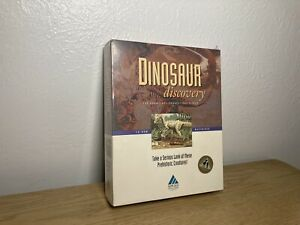 Dinosaur Discovery Macintosh Software Sealed