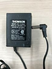 Thomson 5-2366A AC Power Supply Adapter Charger Output: 9V 200mA              N4