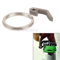 Tool Keychain Outdoor Keyring Mini New Stainless Steel Screwdriver Bottle opener