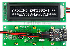 Black IIC/I2C/TWI Character 20x2 Serial LCD Module Display for Arduino w/Library