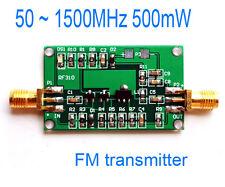 50 ~ 1500mhz 500mw FM transmisor Broadband RF power amplifier 0.5w