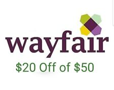 $20 off $50 Wayfair for new customers only, FAST SHIP!