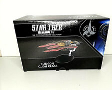 EAGLEMOSS STAR TREK DISCOVERY STARSHIPS COLLECTION KLINGON QUGH CLASS NEW!!