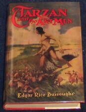 TARZAN & THE ANT MEN Edgar Rice Burroughs 1932-1934 G&D Color Copy Dust Jacket