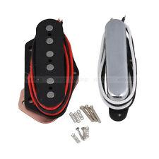 2PCS Guitar Neck Bridge Pickup Alnico 5 Magnet for TL TELE Telecaster Guitar