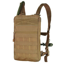 Condor 111030 COYOTE BROWN Tidepool Hydration Carrier MOLLE & 1.5L Bladder