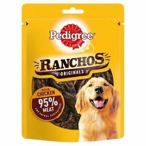Pedigree Ranchos Originals Dog Treats With Chicken 70g 95% Meat Snack Reward