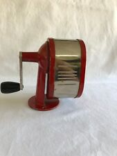 Boston Ever Hardy Red Pencil Sharpener Vintage