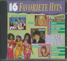 V/A - 16 Favoriete Hits CD Album 16TR HOLLAND 1990 Mai Tai, Anita Meyer, Mistral