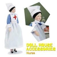 1:12 Mini Simulation Puppenhaus Krankenschwester Keramik Puppenhaus Mann