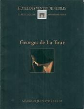 Catalogue vente Drouot Georges de La Tour La Madeleine pénitente Tableau Peintre