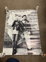 Vintage MOVIE POSTER SID & NANCY Sex Pistols Story See What You're Missing Nice