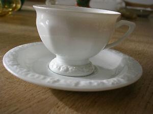 ROSENTHAL Mokkatasse/Espressotasse - Classic Rose weiß