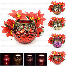 Casablanca Moroccan Style Tea Light Candle Holder Bowl Vintage Style Wedding
