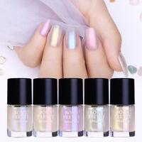 5Stk 9ml Shell Glimmer Nagellack Shinning Transparent Nail Polish Born Pretty
