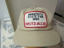 Vtg. Promotional Deutz - Allis 1990 Minnesota State Fair Baseball Hat