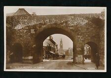 Northumberland BERWICK ON TWEED Scots Gate c1930s? Valentines RP PPC