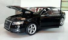 G LGB 1:24 Scale 2009 Audi A4 TFSI Detailed Welly Diecast Model Car 22512 Black