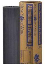 "New York Wire FCS9439-M 48"" x100' Charcoal Aluminum Porch Screen Screening Cloth"